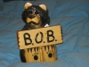 Best of Breed carved bear trophy