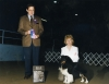 Int/UKC Ch. Cherden Blackhawk (Am Pts.) me showing